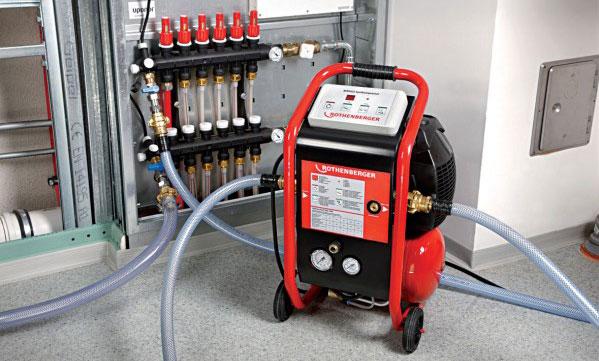 nettoyage installation chauffage